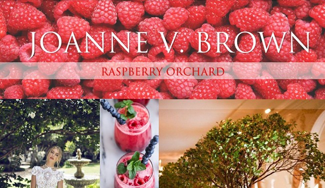 Mood Board 007.17: Raspberry Orchard