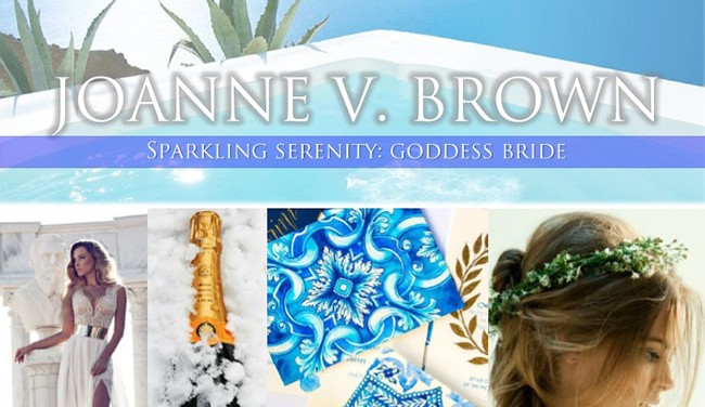 Mood Board 006.17: Sparkling Serenity - Goddess Bride