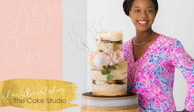 The Cayman Islands' Queen of the Cakes: Lori-Ann Foley, The Cake Studio